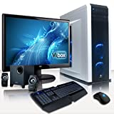 VIBOX Clarity Package 6 - Extreme, Performance, Gaming PC, Multimedia, Ultimate Spec, Desktop PC, USB3.0 Computer, Full Package with 23