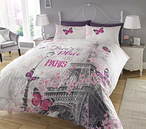 new-paris-romance-duvet-cover-pillowcase-set-bedding-digital-print-quilt-case-single-double-king-bed