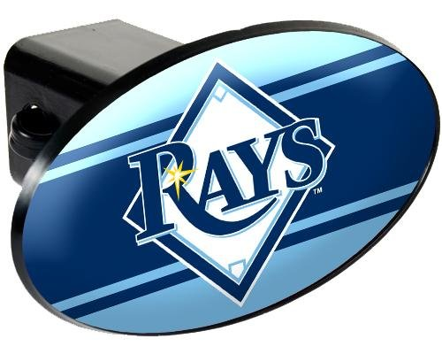 Tampa Bay Rays Trailer Hitch Cover front-17753