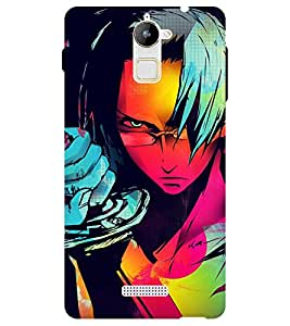 Chiraiyaa Designer Printed Premium Back Cover Case for Coolpad Note 3 Lite (painting cartoon) (Multicolor)