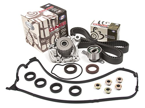 Evergreen TBK224VC2 Honda Del-Sol 1.6L D16Y7 Timing Belt Kit Valve Cover Gasket GMB Water Pump (99 Civic Valve Cover compare prices)