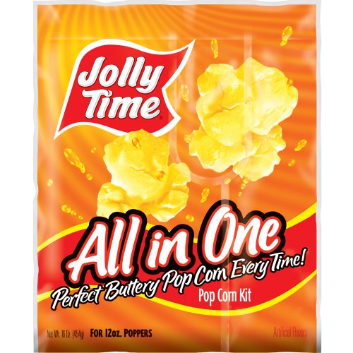Jolly Time All-in-One Commercial Popcorn Machine Kits for 12 oz. Poppers (Pack of 24) (Popcorn Jolly Time compare prices)