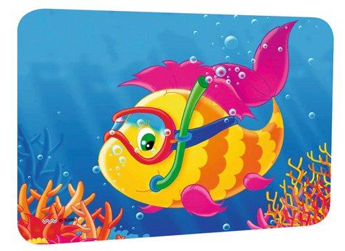 2-er Set Sun Pad Sonnenschutz für Auto und Wohnwagen, Motiv: Fisch, Maße:44x32 cm