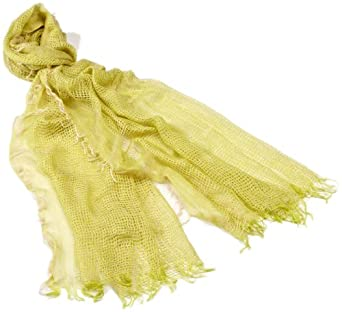 collection eighteen Women's Open Weave Wrap Scarf, Sprout Green, One Size