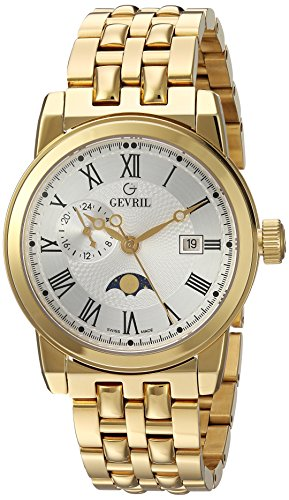 Gevril-Mens-2528-CORTLAND-Analog-Display-Swiss-Quartz-Gold-Watch