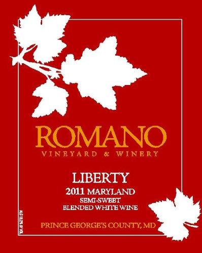 2011 Romano Vineyard & Winery Liberty White Blend 750 Ml