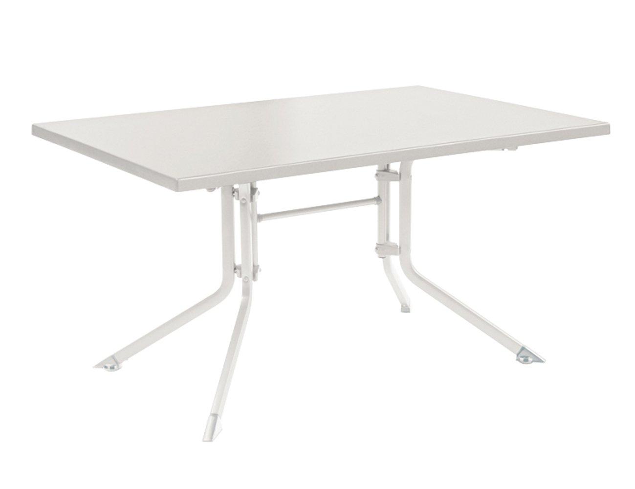 Kettler 0307021-5000 Klapptisch Aluminium-Kettalux, 160 x 95 cm, weiß