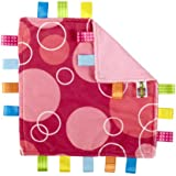 Taggies Little Taggies Blanket, Pink Bubbles (Discontinued by Manufacturer)