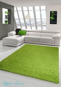 Shaggy Langflor Hochflor Teppich Grün (Shaggy Traum ) Größe 160x230 cm    Kundenbewertung und weitere Informationen
