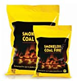Smokeless Coal Fire For Stoves, Open Fires and Campfires 10kg or 20kg Bag (20Kg)