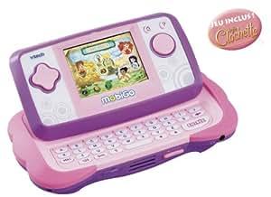 Vtech - 115855 - Console - Mobigo Rose + Jeu Fairies