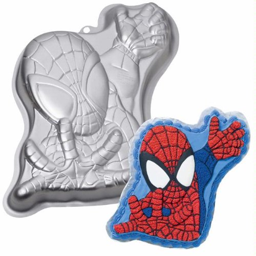 Wilton Spiderman Spider Man Cake Pan (2105-5052, 2004) Marvel Comics (Spider Man Cake Pan compare prices)