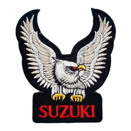 SUZUKI Eagle Motorcycles Bikes Cars Vintage Racing Accessories Jacket BS06 Patches