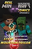 The Amazing Adventures of Steve and Herobrines Mountain Prison Part 2 (Real Minecraft Comics Book 5)
