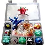 Bakugan Spielzeug sind unterschiedlich Metall Karte mit Bakucase für gutes Geschenk und Sammlung