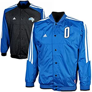 NBA adidas Orlando Magic Youth On Court Reversible Warmup Jacket - Royal Blue... by adidas