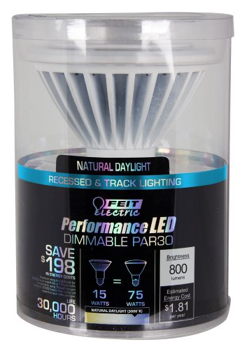 Feit PAR30L/5K/LEDG5 LED Dimmable PAR30 5K Reflector GEN5 (Feit Electric Led Par30 compare prices)