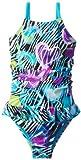 Laguna Niñas 2-6x Wild Love One Piece Swimsuit, turquesa Twist, 3T Color: Turquesa Torsión Tamaño: 3T infantil, bebé, niño