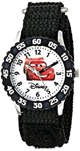 Disney Kids' W000082 Cars Stainless Steel Time Teacher Watch