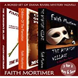 A DIANA RIVERS  Boxed Set of 3 Murder Mystery Suspense Novelsby Faith Mortimer