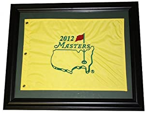 FRAMED Masters Embroidered Golf Pin Flag - Choice of Years