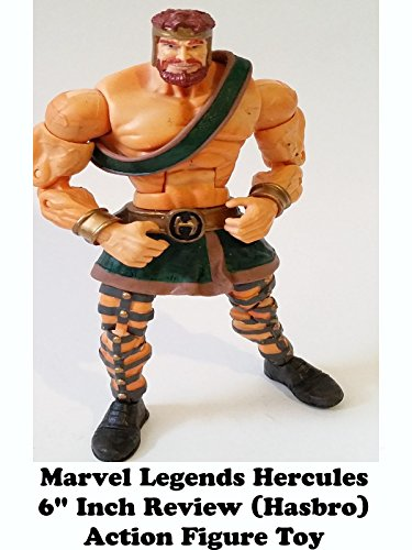 "Marvel Legends HERCULES Review 6"" inch action figure toy hasbro"