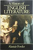 A History of English Literature: Forms and Kinds from the Middle Ages to the Present (0631171479) by Fowler, Alastair