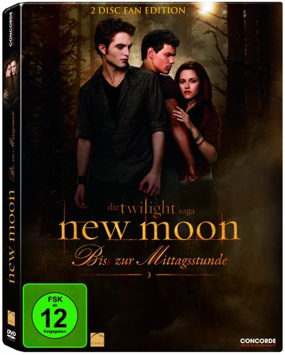 New Moon - Bis(s) zur Mittagsstunde (Fan Edition) [2 DVDs]