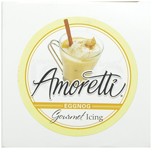 Amoretti Gourmet Eggnog Icing 12 Ounce Food Beverages