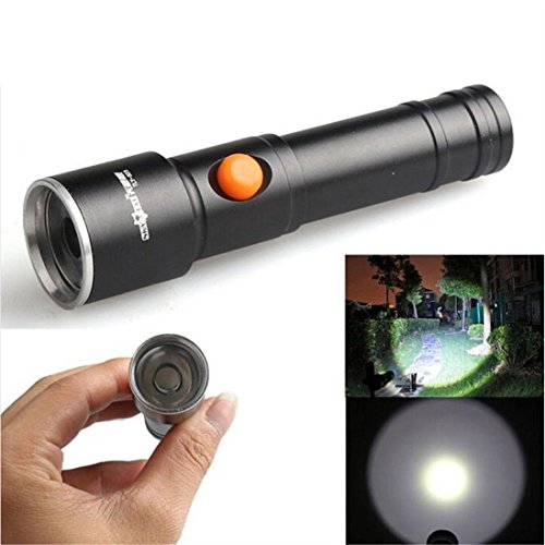 HP95 2500 LM 3 Modes XML T6 LED Fit AA Battery Flashlight Lamp Pocket Size Torch
