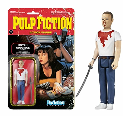 Butch Coolidge (Pulp Fiction) ReAction 3 3/4-Inch Retro Action Figure (2PACK)