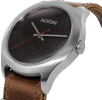 Nixon Men's Mod A428400 Brown Leather Quartz Watch