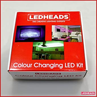 Plug and Play 1mtr Colour Changing LED Strip Kit. Ideal for Kitchens and Homes