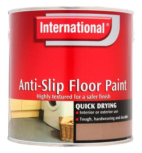 International 5048343 2.5L Anti-Slip Floor Paint - Sandstone