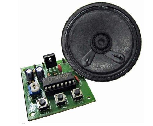 3 Chicken Voice Sound Generate (Cock, Chicken, Hen) Toy Circuit Kit Fa1302
