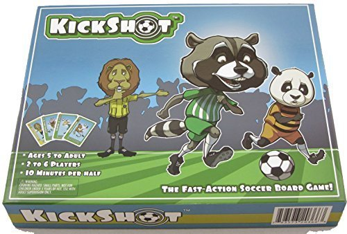 KickShot Soccer Board Game by Sports Cards and Games of Moscow, Idaho online kaufen
