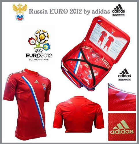 12-13 Russia Home Authentic TECHFIT Jersey