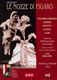 echange, troc Mozart: Le nozze di Figaro (Salzburg Festival 1964)