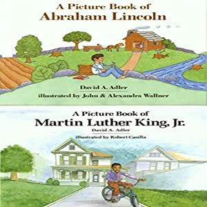 'A Book of Abraham Lincoln' and 'A Book of Martin Luther King, Jr.' | [David A. Adler]