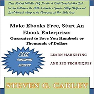 Make Ebooks Free, Start An Ebook Enterprise Audiobook