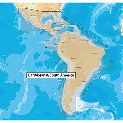 Navionics MSD/NAV+3XG Caribbean & South America GPS Software, SD Card