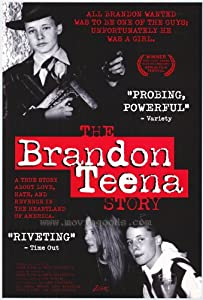 The Brandon Teena Story Movie Poster (11 x 17 Inches - 28cm x 44cm) (1998) Style A -(Kate Bornstein)(JoAnne Brandon)(Teena Brandon)(John Lotter)(Tom Nissen)(Lana Tisdel)