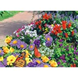 Garden Butterfly Mat - Instant Garden, Roll N Grow - Seeded Mat - Just Roll and Grow! Instant Flower Garden - (Easy & Hassle Free!) - Grow Flowers Quickly & Easily!