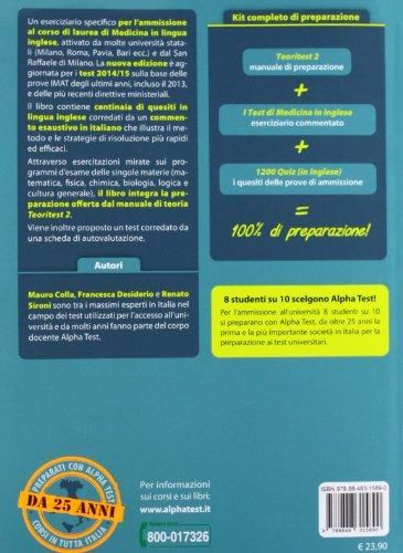I test per l 39 ammissione ai corsi di laurea di medicina in for Test di medicina simulazione