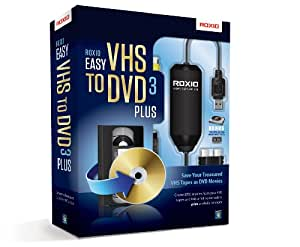 Roxio Easy VHS to DVD 3 Plus - VHS to DVD Converter Software