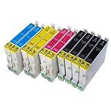 """10 Druckerpatronen kompatibel mit Epson T0711 T0712 T0713 T0714von """"Ti-Sa"""""""