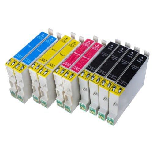 10 Druckerpatronen kompatibel mit Epson T0711 T0712 T0713 T0714