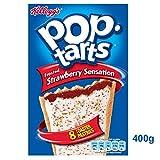 Kelloggs Pop Tarts Strawberry Sensation 400g