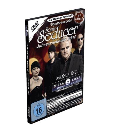 M'Era Luna 2012 - Der Film (Teil 2) + Sonic Seducer Jahresrückblick 2012 + exklusive EP von Mono Inc., Bands: Estampie, And One, Joachim Witt u.v.a., 42 Clips, Spielzeit: 3,5 Stunden