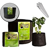 Smart Pot Fabric Plant Container - 5 Gallons, 5 Pack